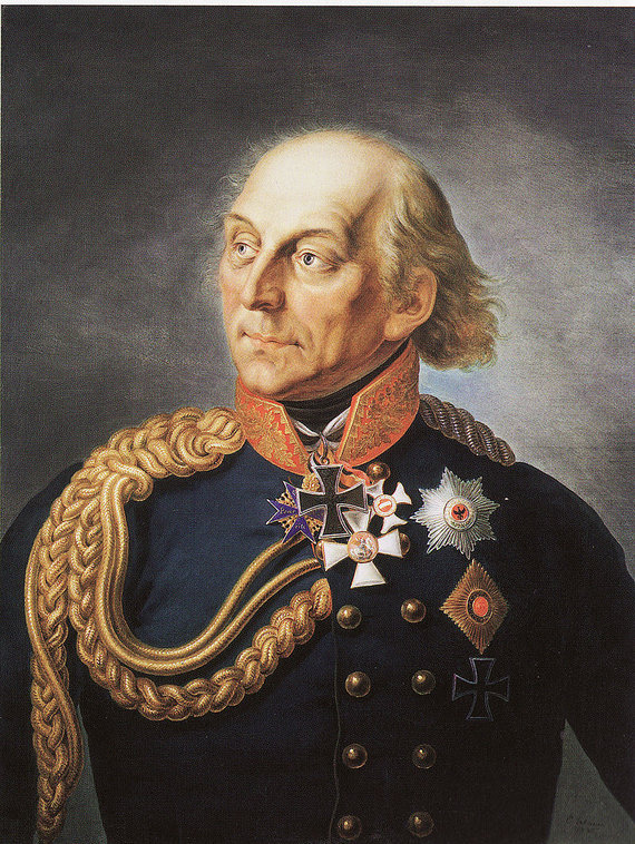 Prūsijos generolas leitenantas Hansas Davidas Liudvikas fon Jorkas. Ernsto Geabauerio paveikslas