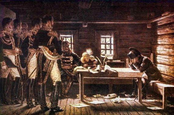Napoleonas kare su Rusija. V.Vereščiagino paveikslas