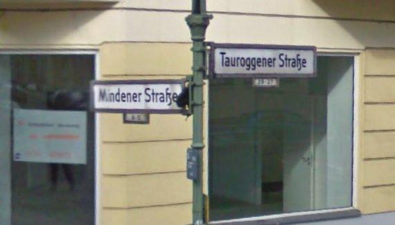 Tauroggener gatvė Berlyne