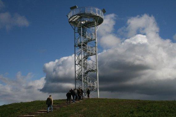 VSTT nuotr./Siberijos pelkės apžvalgos bokštas