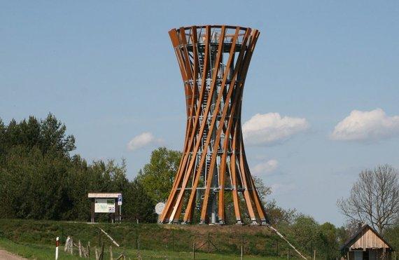 VSTT nuotr./Metelių apžvalgos bokštas
