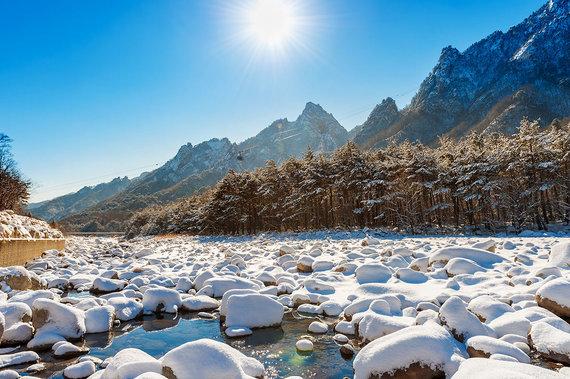 Shutterstock.com nuotr./Seoraksano nacionalinis parkas