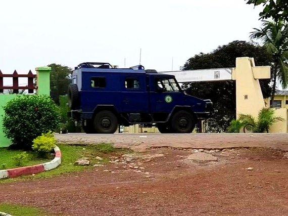 D.Pankevičiaus nuotr./Gabone, kuriame bandyta įvykdyti karinį perversmą