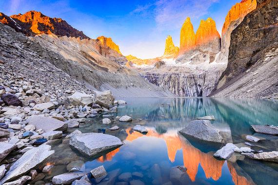 Shutterstock.com nuotr./Torres del Paine, Čilė