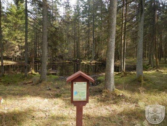 Žemaitijos nacionalinio parko nuotr./Plokštinės pažintinis takas