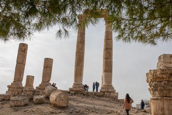 Amano Citadelės kolonos (nuotr. Giedriaus Akelio, spot-on.lt )