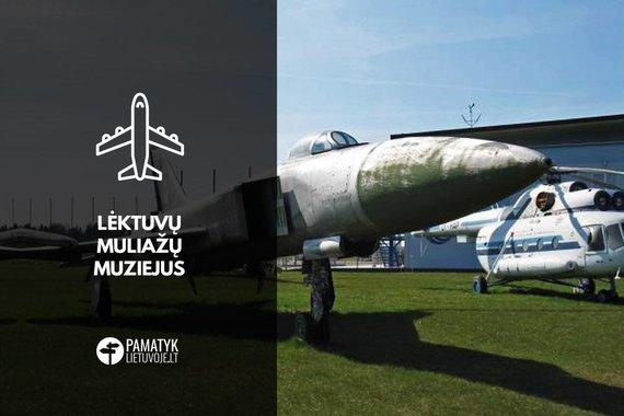 PamatykLietuvoje.lt nuotr./Lėktuvų muliažų muziejus