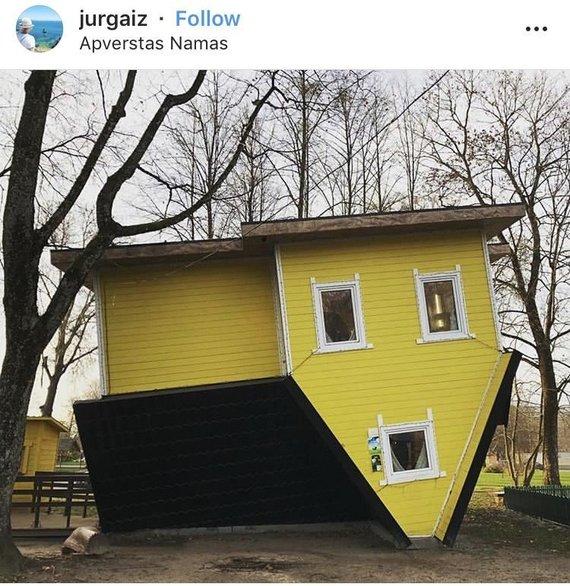 Druskininkų m. savivaldybės iliustr./Apverstas namas