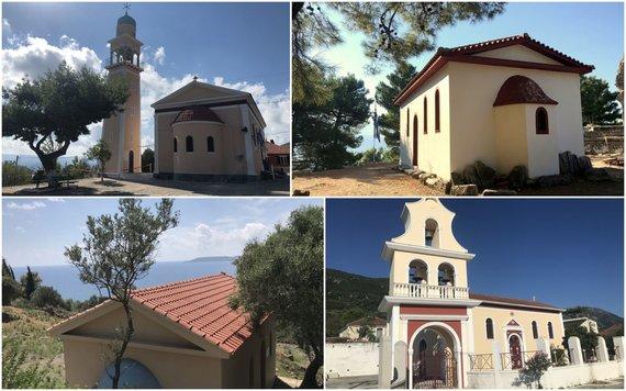 S.Galdikaitės nuotr./Kefalonijoje stovinčios bažnyčios
