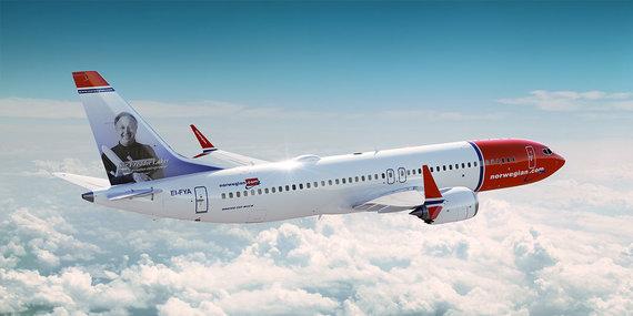 """""""Norwegian"""" nuotr./""""Norwegian"""" turimas """"Boeing 737 MAX 8"""""""
