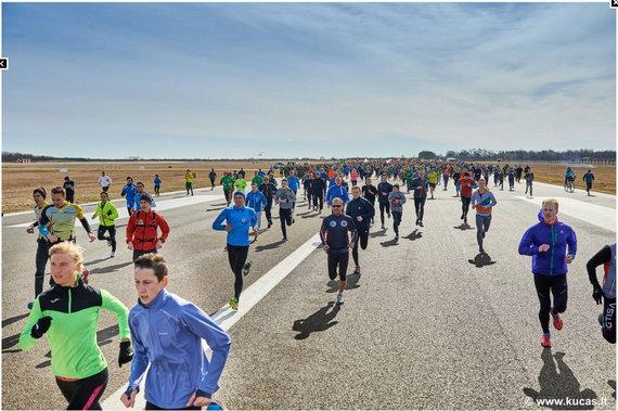 """Šiaulių TIC nuotr./""""Runway run"""""""