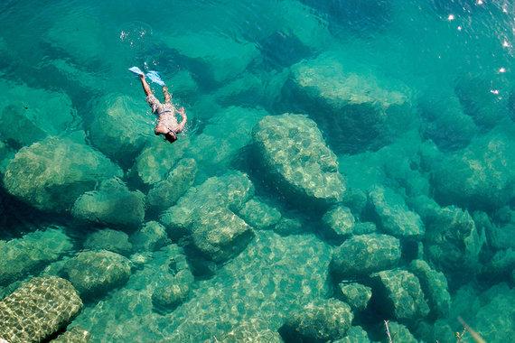 Shutterstock.com nuotr./Malavio ežeras, Malavis, Mozambikas ir Tanzanija