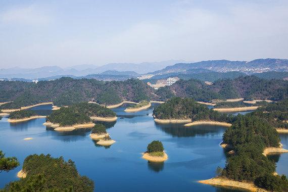 Shutterstock.com nuotr./Čiandaohu ežeras, Kinija