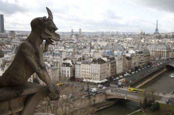"""""""Reuters""""/""""Scanpix"""" nuotr./Paryžiaus Dievo Motinos katedra"""