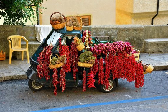 """""""Tez Tour"""" nuotr./Paprika ir raudonieji svogūnai – firminės Kalabrijos prieskoninės daržovės"""