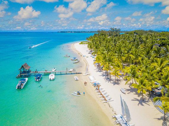 Shutterstock.com nuotr./Trou-aux-Biches, Mauricijus
