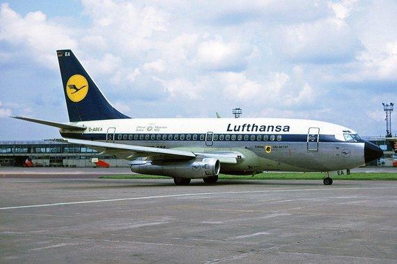 """""""Wikimedia Commons"""" nuotr./""""Boeing 737-100"""" – tokių keistų proporcijų 737 tikriausiai jums nėra tekę matyti"""