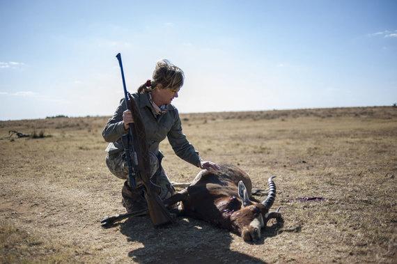 """AFP/""""Scanpix"""" nuotr./Medžioklė Afrikoje"""