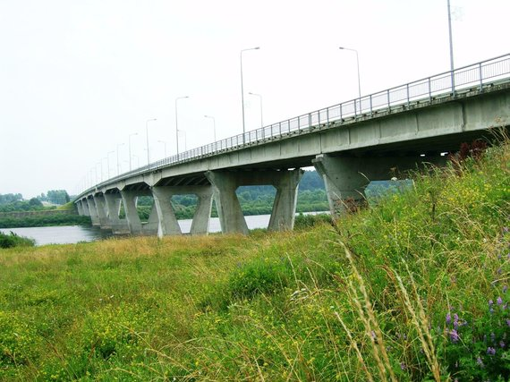 """Wikimedia Commons"" nuotr./Jurbarko tiltas"