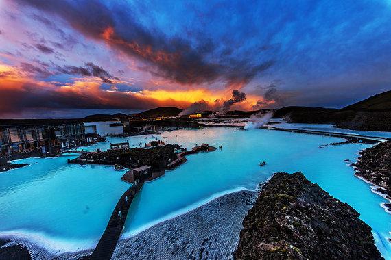 Shutterstock.com nuotr./Žydroji lagūna, Islandija