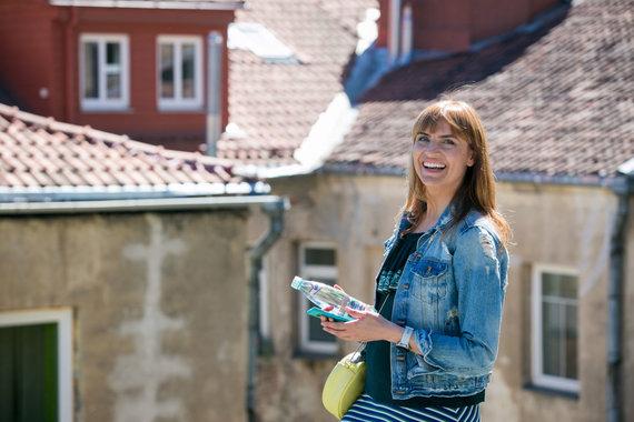 Organizatorių nuotr./Vlada Musvydaitė sukūrė pasivaikščiojimų po Vilnių maršrutą