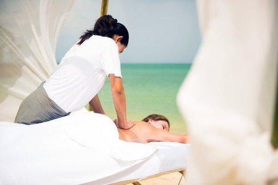"""Boutique Travel"" nuotr./SPA masažas Maldyvuose"