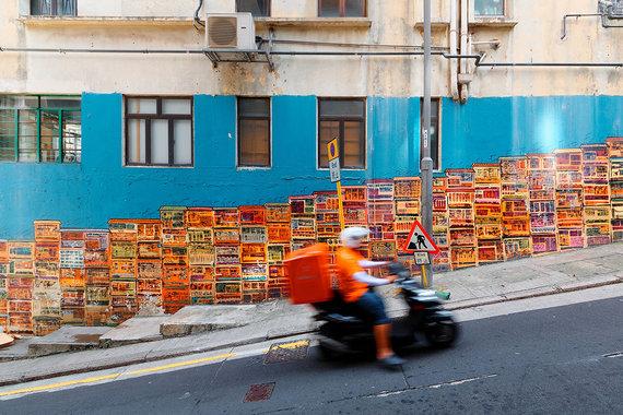 Shutterstock.com nuotr./Honkongas, Grahamo gatvė