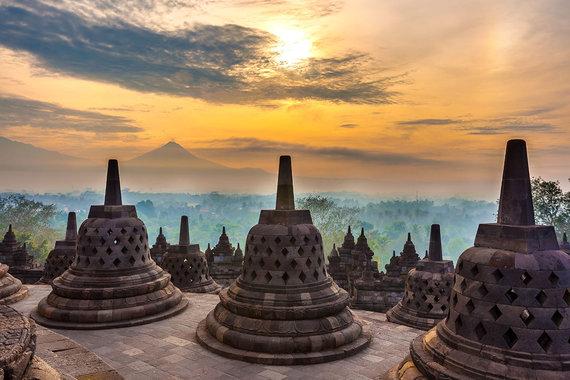 Shutterstock.com nuotr./Indonezija, Borobuduras