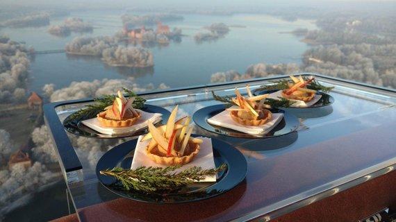 Amberton Hotel Group nuotr./Skraidantis restoranas