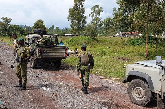 D.Pankevičiaus nuotr./Ginkluota apsauga/Kongo Demokratinė Respublika