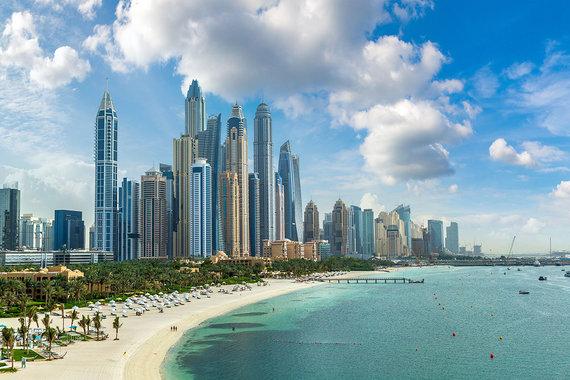 Shutterstock.com nuotr./Dubajus, paplūdimys