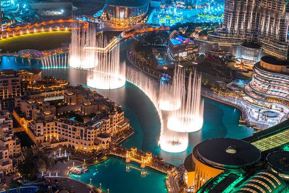 Shutterstock.com nuotr./Dubajaus dainuojantis fontanas