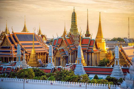 Shutterstock.com nuotr./Didieji Karališkieji rūmai, Tailandas