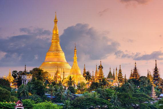 Shutterstock.com nuotr./Švedagono pagoda, Mianmaras