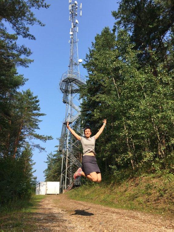 checkinlithuania.com nuotr./Šiliniškių (Ginučių) apžvalgos bokštas