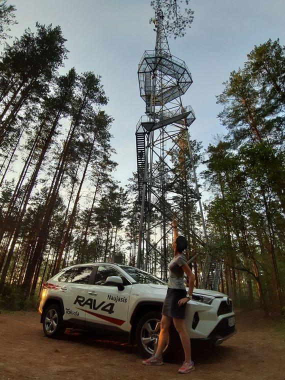 checkinlithuania.com nuotr./Puvočių apžvalgos bokštas