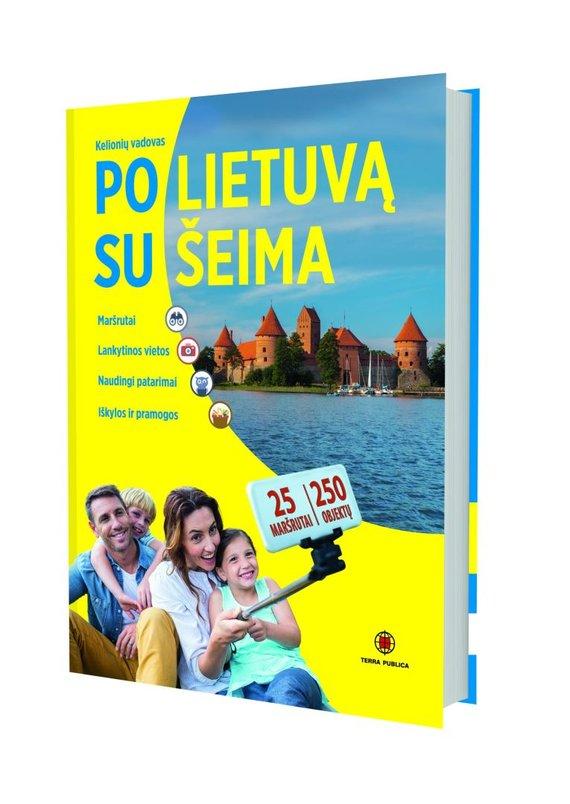 """Vytauto Kandroto nuotr./Knyga """"Po Lietuvą su šeima"""""""