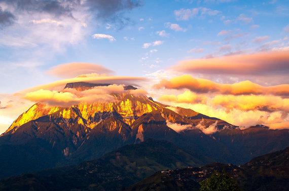 Shutterstock.com nuotr./Kinabalu nacionalinis parkas