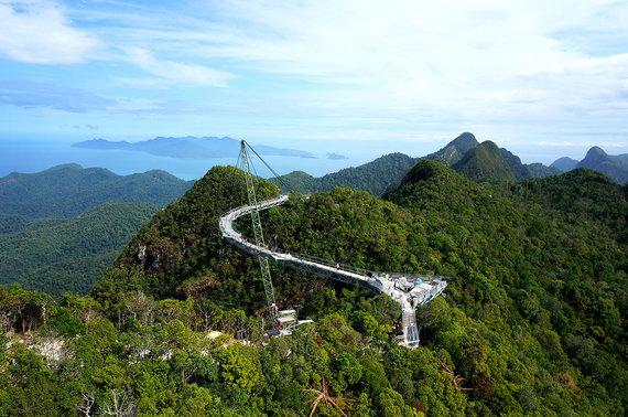 Shutterstock.com nuotr./Langkavio dangaus tiltas, Malaizija