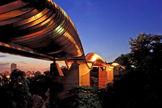 Shutterstock.com nuotr./Henderseno bangų tiltas, Singapūras