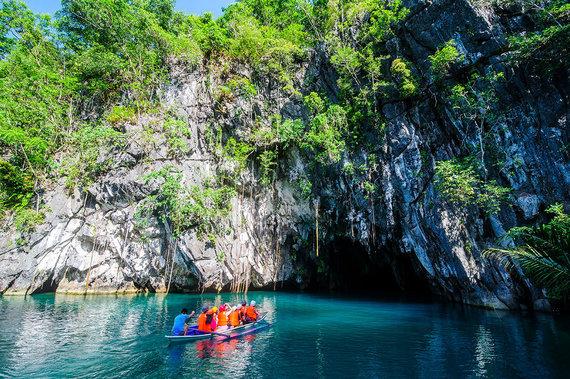 Shutterstock.com nuotr./Puerto Prinsesos Požeminės Upės nacionalinis parkas