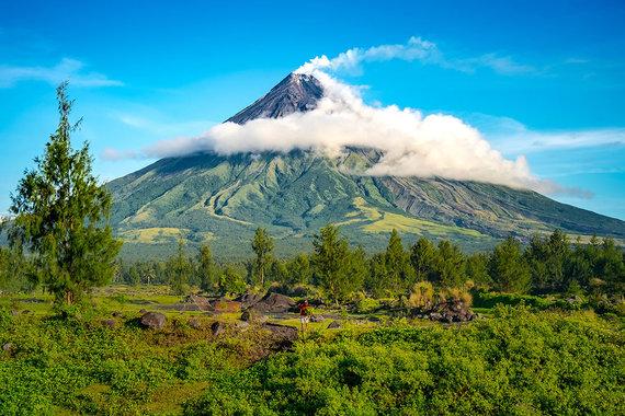 Shutterstock.com nuotr./Majono ugnikalnis