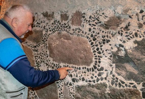 Kristinos Stalnionytės nuotr./Pašto stoties rūsio sienų restauravimą inicijavo Jonas Pleckevičius
