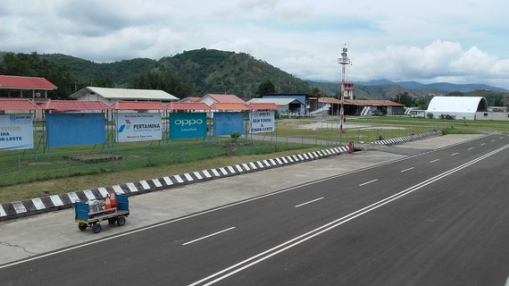 V.Mikaičio nuotr./Dilio oro uoste