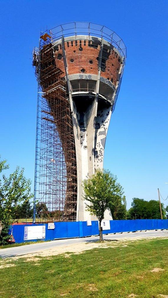 A.Šėmienės nuotr./Vukovaro vandens bokštas
