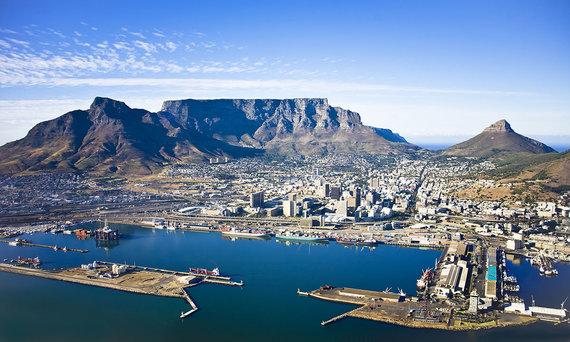 Shutterstock.com nuotr./Keiptaunas, Pietų Afrikos Respublika