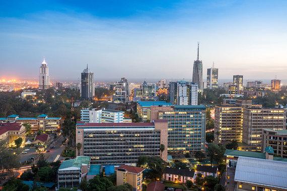 Shutterstock.com nuotr./Nairobis, Kenija