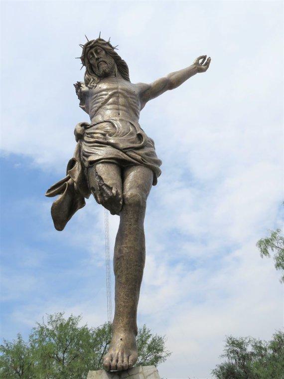 S.Paltanavičiūtės nuotr./Sulūžęs Kristus (San Jose de Gracia)