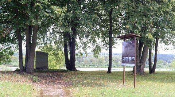 Polinos Butkienės nuotr./Zapyškio žydų žudynių vieta ir kapas