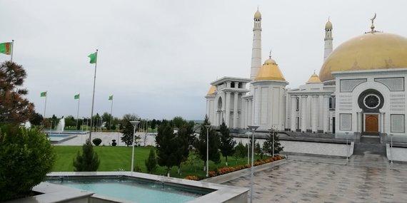 V.Mikaičio nuotr./Didžioji mečetė ir jos apylinkės